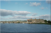 N0015 : Banagher Bridge and Maltings by Alan Murray-Rust
