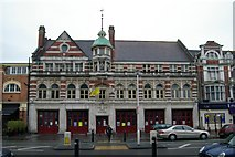 SZ0991 : Bournemouth old fire station by Kevin Hale