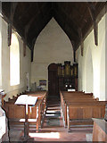 TM3898 : St Gregory's Church, Heckingham - view west by Evelyn Simak