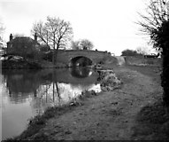SU7451 : Colt Hill Bridge, Basingstoke Canal by Dr Neil Clifton