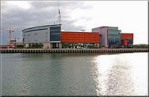 """J3474 : The """"Odyssey"""", Queen's Quay, Belfast by Albert Bridge"""