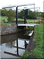 SJ9052 : Long Butts Lift Bridge, Caldon Canal, below Stockton Brook, Staffordshire by Roger  Kidd