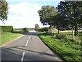 TF7422 : Road east towards Massingham by Nigel Jones