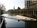 ST7564 : View south from near Pulteney Bridge by Chris Gunns