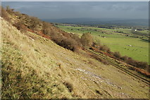 SK2073 : Along Longstone Edge by Roger Temple