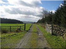 SD7657 : Access Lane from Heath Farm by Chris Heaton