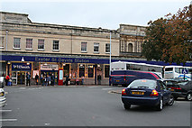 SX9193 : Exeter: frontage to St David's station by Martin Bodman