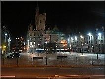 NJ9406 : Aberdeen: Mercat Cross by night by Chris Downer