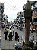 SJ4066 : Bridge Street, Chester by Eirian Evans