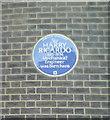 TQ2981 : Blue Plaque, 13 Bedford Square by Rich Tea