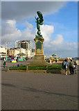 TQ2904 : Peace Statue by Simon Carey
