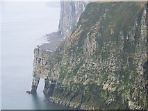 TA2073 : Cliff and arch, Bempton Cliffs by Maigheach-gheal