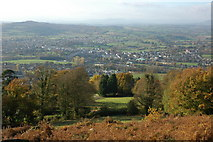 SO5212 : Monmouth viewed from the Kymin by Philip Halling