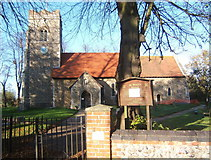 TM1551 : St Peter's church, Henley by Andrew Hill