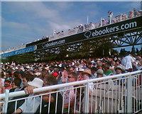 SJ8195 : Enjoying the cricket by Steve  Fareham