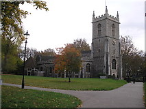 TQ3581 : St. Dunstan's Church, Stepney, East London by Dr Neil Clifton