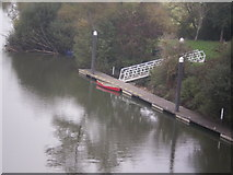 ST6868 : Boat on the River Avon by Oli Allen