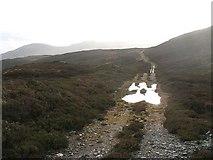 NN6854 : Track on Geal Charn by Richard Webb