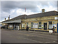 TQ4565 : Orpington Station - western entrance by Ian Capper