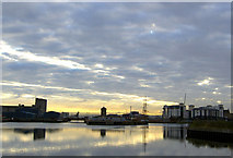 NT2677 : Early morning at the Port of Leith by Steve  Fareham