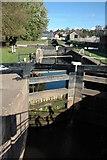 SO8453 : The lock gates, Diglis Lock by Philip Halling