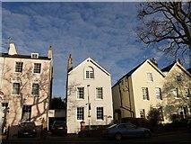 SX9193 : Queen's Terrace, Exeter by Derek Harper