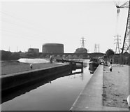 SK5702 : Freeman's Meadow Lock, Soar Navigation, Leicester by Dr Neil Clifton