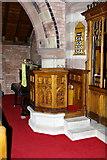 NY0106 : The Parish Church of St John, Beckermet, Pulpit by Alexander P Kapp