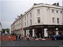 SM9515 : Victoria Place, Haverfordwest by Humphrey Bolton