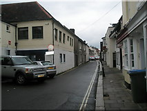 SU5806 : Narrow lane  leading to the High Street by Basher Eyre