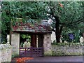 NY9365 : Lych gate, St. John Lee by Mike Quinn