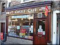 NZ0416 : Castle Cafe, Barnard Castle by michael ely
