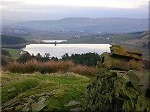 SD7622 : Ogden Reservoir by John H Darch