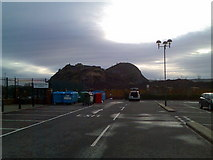 NS4074 : Waste recycling centre, Dumbarton by Stephen Sweeney
