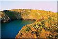 SW8466 : Beacon Cove by Geoff Tydeman