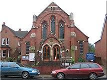 SU3521 : Romsey Methodist Church by Rosemary Oakeshott