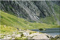 SH6459 : Cwm Idwal by Peter S