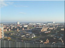 TA2710 : Looking east south east from the roof of Thesiger house Grimsby by Roger Damm