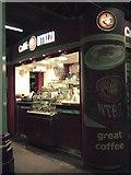SX9193 : Coffee bar, Exeter station by Derek Harper