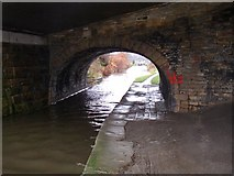 SE1115 : Morley Lane bridge, Milnsbridge, Linthwaite by Humphrey Bolton