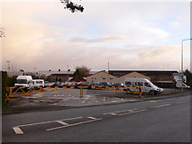 SJ3464 : Entrance to the Airbus factory, Broughton by Eirian Evans
