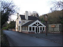 SJ6902 : The Shakespeare Inn, Coalport, Telford and Wrekin by al partington