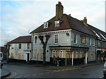 TQ7668 : The Golden Lion Pub, Brompton, Closed Down by Danny P Robinson