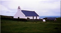 SN1952 : Mwnt Church by Nick Mutton