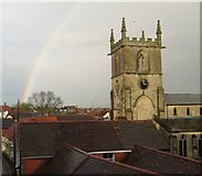 ST8026 : St Mary's Church Tower by NDN