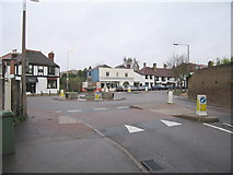 TQ1667 : The Roundabout - Thames Ditton by Bob Parkes