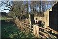 NZ1858 : Ruined Barn, Gibside by Mick Garratt