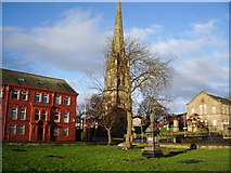 SD6727 : St Peters Graveyard, Blackburn by Alexander P Kapp