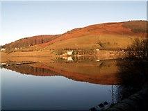 SK2086 : Ladybower Reservoir looking to Ashopton by John Fielding