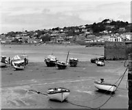 SW5130 : St. Michael's Harbour and Marazion, Cornwall by Dr Neil Clifton